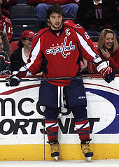 Hockey Photos - Washington Capitals - Alexander Ovechkin won the Hart MVP Trophy in 2008 and 2009.