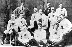 Hockey Photos - Ottawa Senators (Original) - The 1895 Ottawa Hockey Club and executive.