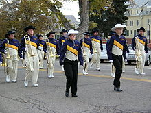 College Basketball Photos - Northern Colorado Bears - UNC's Pride of the Rockies marching band