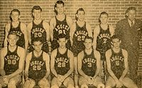 College Basketball Photos - Oklahoma State Cowboys - Championship basketball team in 1945