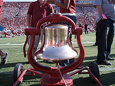 College Basketball Photos - Southern California Trojans - USC's possession of the Victory Bell.