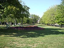 College Basketball Photos - Tennessee Tech Golden Eagles - The Main Quad in summer 2007
