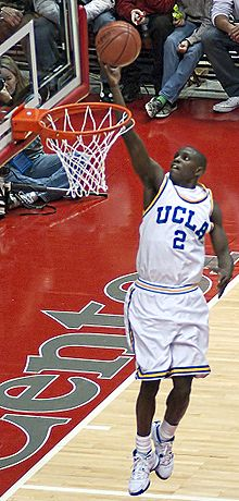 College Basketball Photos - Ucla Bruins - Darren Collison at the DePaul game