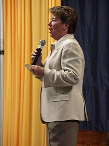 College Basketball Photos - California Golden Bears - Athletic director Sandy Barbour in May 2009