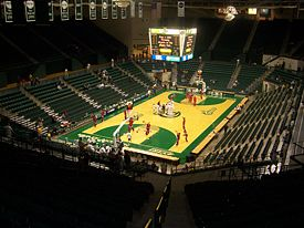 College Basketball Photos - Charlotte 49ers - Halton Arena has been the on-campus facility for basketball and volleyball since 1996.