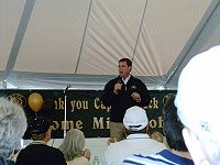 College Basketball Photos - Colorado Buffaloes - Mike Bohn at the 2005 Spring Practice game.