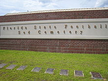 "College Basketball Photos - Florida State Seminoles - Florida State Football's Sod Cemetery is the final resting place for 75 ""Sod Games"""