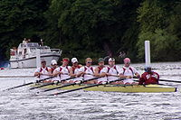 College Basketball Photos - Harvard Crimson - Harvard men's eight at Henley