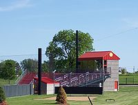 College Basketball Photos - Iowa State Cyclones - Softball field at the SW Athletic Complex