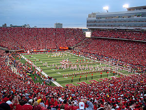 College Football Photos - Nebraska Cornhuskers - The Cornhuskers play another sold-out game in Memorial Stadium