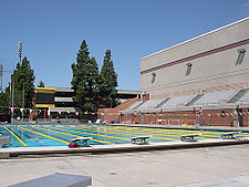 College Football Photos - Southern California Trojans - McDonald's Olympics Swim Stadium.