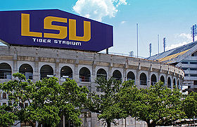 College Football Photos - Louisiana State Fighting Tigers - Tiger Stadium.