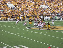 College Football Photos - Southern Mississippi Golden Eagles - Southern Miss game action against UL-Lafayette.