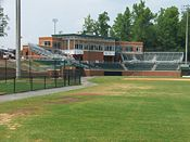 College Football Photos - Charlotte 49ers - Hayes Stadium has been the home of the 49ers' baseball team since 1984. A major renovation finished in 2008.