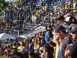 College Football Photos - Florida International Golden Panthers - FIU fans at a football game at FIU Stadium.