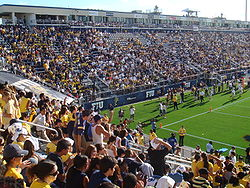 College Football Photos - Florida International Golden Panthers - The Golden Panthers play at the on-campus FIU Stadium.