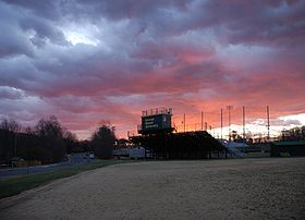 "College Football Photos - George Mason Patriots - Raymond H. ""Hap"" Spuhler Baseball Field at George Mason University"