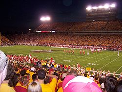 College Football Photos - Iowa State Cyclones - Iowa State Football game in Jack Trice Stadium