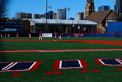 Baseball Photos - Illinois-Chicago Flames - UIC baseball plays at Les Miller Field