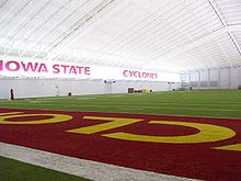 College Football Photos - Iowa State Cyclones - Bergstrom Indoor Practice Facility