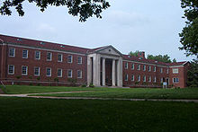 College Football Photos - Tennessee-Martin Skyhawks - Hall-Moody Administration Building