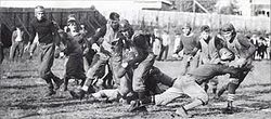College Football Photos - Tulsa Golden Hurricane - The Kendallites in 1914 game action.