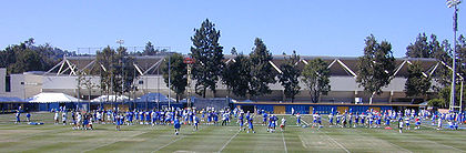 College Football Photos - Ucla Bruins - Fall football practices at Spaulding Field