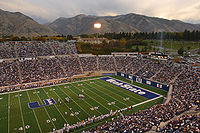 College Football Photos - Utah State Aggies - Romney Stadium