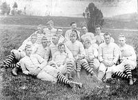 College Football Photos - Virginia Tech Hokies - Virginia Tech's inaugural football team in 1892