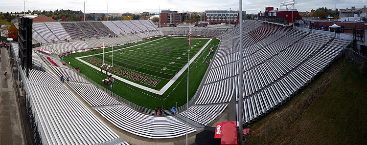 College Football Photos - Washington State Cougars - Martin Stadium