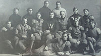 College Football Photos - Wisconsin Badgers - The 1903 team