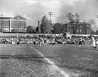 College Football Photos - Appalachian State Mountaineers - College Field in 1958