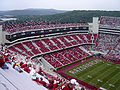 College Football Photos - Arkansas Razorbacks - Donald W. Reynolds Razorbacks Stadium contains Frank Broyles Field
