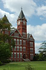 College Football Photos - Auburn Tigers - Samford Hall