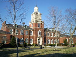 College Football Photos - Austin Peay Governors - The Browning Building at Austin Peay State University