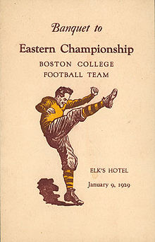 College Football Photos - Boston College Eagles - Eastern Champions
