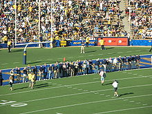 College Football Photos - California Golden Bears - Members of the 1959 Rose Bowl team at a Cal home game in October 2008