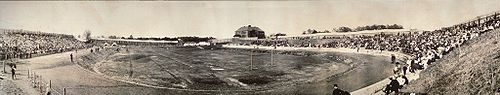 College Football Photos - Drake Bulldogs - Drake Stadium in 1907.