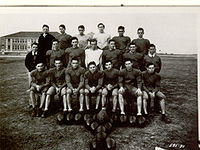 College Football Photos - East Carolina Pirates - 1933 East Carolina football team