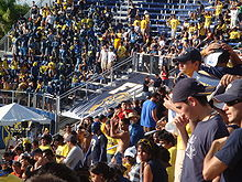 College Football Photos - Florida International Golden Panthers - FIU fans at a 2008 football game at FIU Stadium.