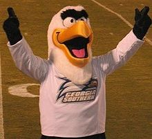 College Football Photos - Georgia Southern Eagles - Gus the Eagle