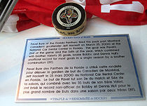 Olympics Photos - Pavel Bure - The puck commemorating Bure's 54th goal of the 1999â