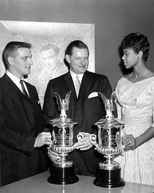 Olympics Photos - Wilma Rudolph - Roger Maris (left) and Wilma Rudolph (right) the Associated Press Athletes of the Year