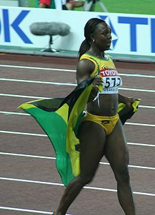 Olympics Photos - Veronica Campbell-Brown - Center
