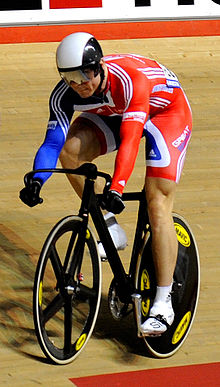 Olympics Photos - Chris Hoy - Hoy at the 2008 World Championships in Manchester.