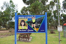Olympics Photos - Rachael Sporn - sign at Murrayville