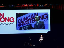 Olympics Photos - Duncan Armstrong - Armstrong supporting Frontline Charity Appeal in 2008.