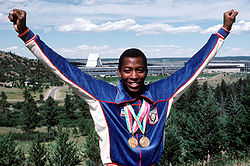 Olympics Photos - Alonzo Babers
