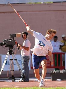 Olympics Photos - Andreas Thorkildsen - Throwing at the European Cup