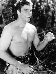 "Olympics Photos - Buster Crabbe - Buster Crabbe as ""Tarzan"""